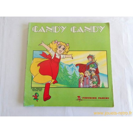 Candy Candy album panini 1980 Complet