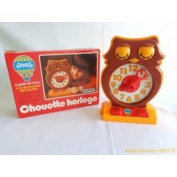 Chouette horloge - Meccano 1975