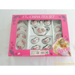 Service à thé Barbie en porcelaine - Chilton Toys 1992