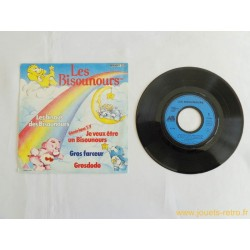 Les Bisounours - Les bisous des Bisounours - 45T Disque vinyle