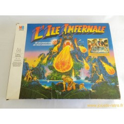 L'Ile Infernale - jeu MB 1987