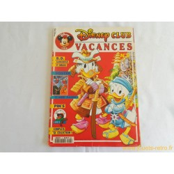 Disney Club Vacances n° 5 magazine avril 1992