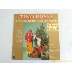 C'est la belle nuit de Noël - Tino Rossi disque vinyle 33 t