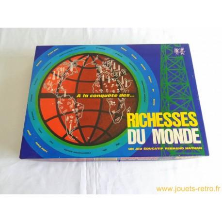 Richesses du monde (1ère édition) - Jeu Nathan 1975