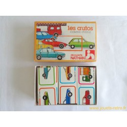 Les autos Domino Puzzle Nathan 1979