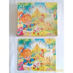 Rainbow Brite puzzle bois 30 pièces