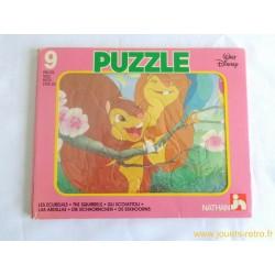 Les écureuils - Puzzle Disney Nathan