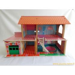 Maison de poupée ancienne Depreux