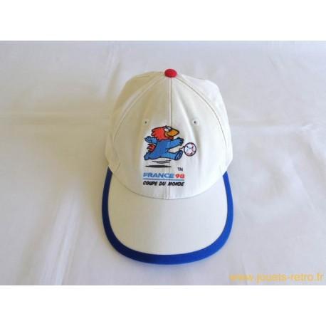 Casquette coupe du monde France 98 football