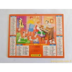 Almanach du facteur 1996 Disney