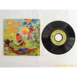 Maya au secours de Flip - 45T Livre Disque vinyle