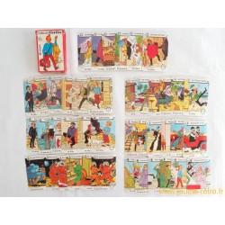 Jeu des 7 familles Tintin - Hemma 1983