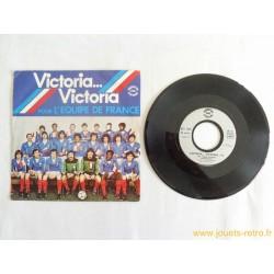 Victoria... Victoria pour l'équipe de France - 45T disque vinyle