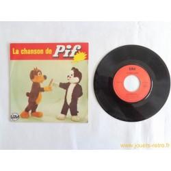La chanson de Pif - 45T disque vinyle
