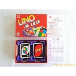 UNO De Luxe - Jeu Mattel 1999