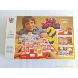 Qui est-ce ? - jeu MB 1981