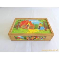 Boite Cubes Boucles d'Or et les trois ours