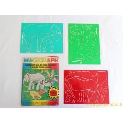 Magigraph Animaux de la savane et le cheval