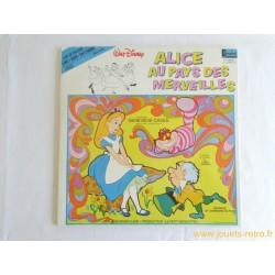 Alice au pays des merveilles Livre disque 33 T