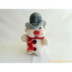 Peluche Bouli le bonhomme de neige
