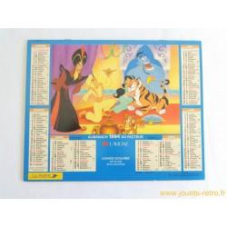 Almanach du facteur 1994 Disney
