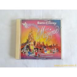 """CD """"Euro Disney c'est Magique"""""""