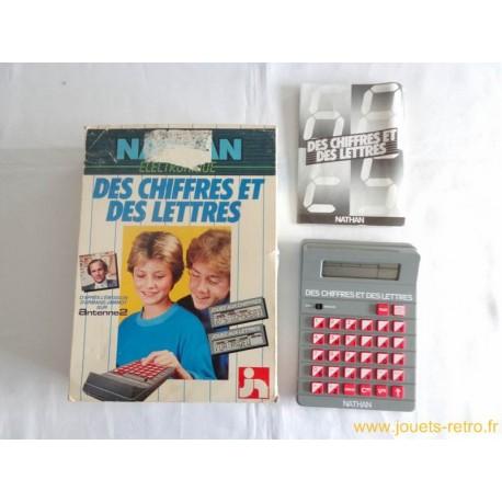 Des chiffres et des lettres électronique - jeu Nathan 1984