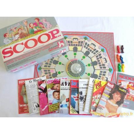 Scoop - jeu Nathan 1987