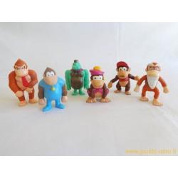 Lot figurines Nintendo Donkey Kong 1997