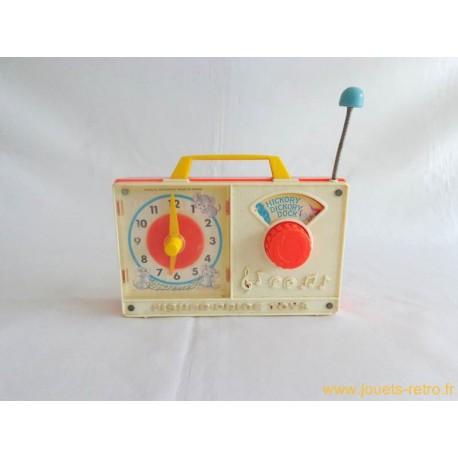 Radio horloge Fisher Price 1971