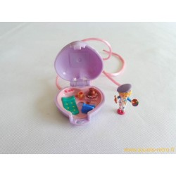 Pretty picture locket Polly Pocket 1991