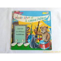 Piccolo Saxo et le cique Jolibois Livre Disque 33T