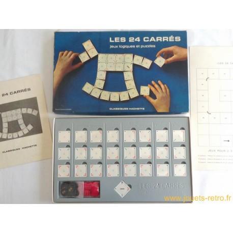 Les 24 carrés - jeu classiques Hachette