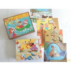 Boite à cubes Disney France Jouets 1981