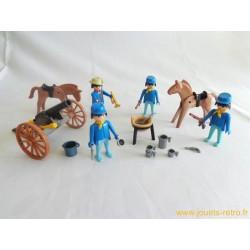 Cavalerie américaine Playmobil System 1980