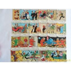 Jeu des 7 familles Tintin - Willeb 1977