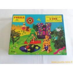 """Puzzle """"Féerie des Saisons l'été"""" Nathan"""