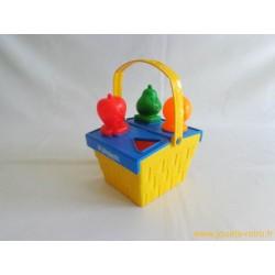 Panier à formes fruits Playskool