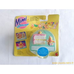 Le gâteau d'anniversaire Mimi & Goo Goos - Mattel 1995