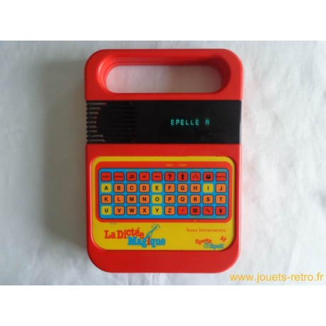 La Dictée Magique Speak & Spell Texas Instruments 1981