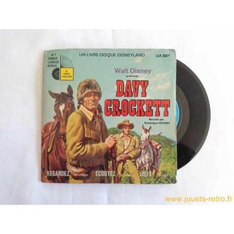 Davy Crockett - 45T Livre disque vinyle