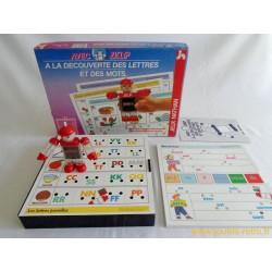 A la découverte des lettres et des mots avec Ziclip - jeu Nathan 1989