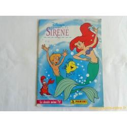 "Album Panini ""La Petite Sirène"" le dessin animé TV Disney"