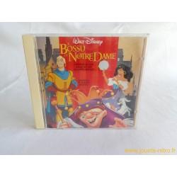 """CD """"Le Bossu de Notre Dame"""" l'histoire du film + chansons"""