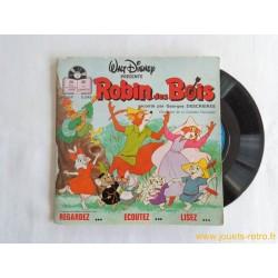 Robin des Bois - 45T Livre disque vinyle