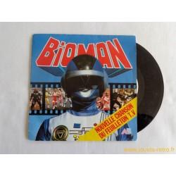 Bioman - 45T disque vinyle