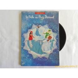 La belle au Bois Dormant - Livre disque 45 t