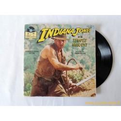 Indiana Jones et le temple maudit - Livre disque 45T