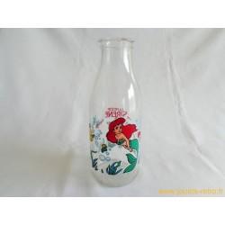 """Bouteille de lait """"La Petite Sirène"""" Disney"""