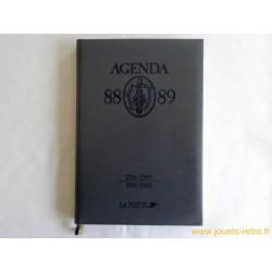 Agenda La Poste 88-89